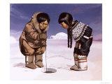 Children from Greenland Giclee Print by Angus Mcbride