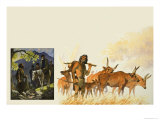 The Extinct Auroch Giclee Print by Bob Hersey