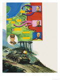 Battle of the Bulge Giclee Print by Gerry Wood