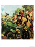 The Aa: Knights of the Road Giclee Print by James Edwin Mcconnell