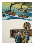 Dunkirk Reproduction procédé giclée par Gerry Wood