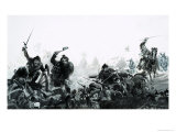 The Battle of Culloden Giclee Print by Graham Coton