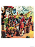 The Pirates of Penzance Giclee Print by Ron Embleton