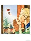 The Story of Tom Thumb Giclee Print by Eduardo Teixeira Coelho