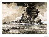 The Graf Spee Giclee Print by John S. Smith