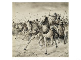 Biblical Scene Giclee Print by Clive Uptton