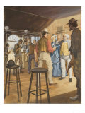 The Ben Hall Gang Giclee Print by Barrie Linklater