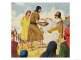 The Miracles of Jesus Giclee Print by Clive Uptton