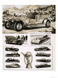 Rolls and Royce Giclee Print by Bruce Windo