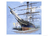 The Tea Clipper Cutty Sark Giclee Print by John S. Smith