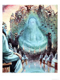 Saint John's Vision of Heaven Giclee Print by Robert Forrest