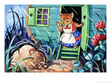 Katie Country Mouse Giclee Print by Harold Tamblyn-watts