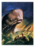 Moby Dick Giclee Print by James Edwin Mcconnell