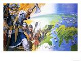 Vikings Giclee Print by Angus Mcbride
