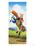 Brer Rabbit Giclee Print by Virginio Livraghi