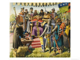 Magna Carta Giclee Print by Michael Godfrey