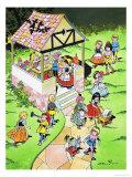 School For Little Folks Giclee Print by Jesus Blasco