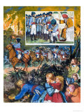India: The Sikh Wars Giclée-Druck von C.l. Doughty