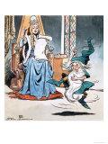 The Story of Rumpelstiltskin Giclee Print by Jesus Blasco