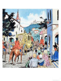 The Story of Donkey-Skin Giclee Print by Jesus Blasco