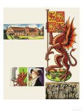 The Dragon of Cadwaladr Giclee Print by Dan Escott