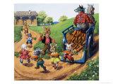 Brer Rabbit Giclee Print by Virginio Livraghi