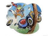 The Wind in the Willows Giclee Print by Philip Mendoza
