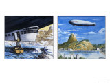 The Graf Zeppelin Giclee Print by Alberto Salinas