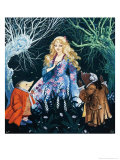 Giselle of the Woods Giclee Print by Gerry And Elizabeth Embleton