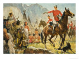 Mounties Giclee Print by James Edwin Mcconnell