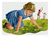 The Dandelion Giclee Print by Clive Uptton