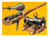 Cannons Giclee Print by Dan Escott