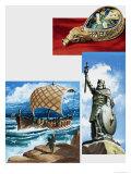 Alfred the Great Giclee Print by Dan Escott