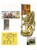 The Griffin of Edward III Giclee Print by Dan Escott
