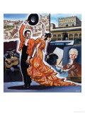 Spain Giclee Print by Mike White