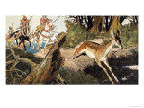 Babes in the Wood Giclee Print by Jesus Blasco