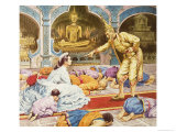 Anna and the King of Siam Giclee Print by Robert Brook