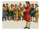 Captain Bartholomew Roberts Giclee Print by Ron Embleton
