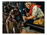 Pirates and Slaves Giclee Print by Ron Embleton