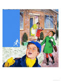 Jack Frost Giclee Print by Clive Uptton