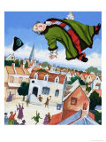 The Duke Who Was Fat Giclee Print by Gerry Embleton