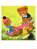 Teddy Bear Giclee Print by Francis Phillipps