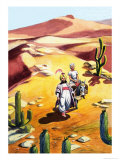 Judar and His Brother Giclee Print by Ron Embleton