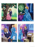 Beauty and the Beast Giclee Print by Ron Embleton