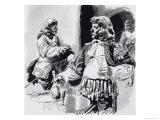 Cavaliers Giclee Print by Paul Rainer