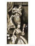 Marie Antoinette and Her Maid Giclee Print by Frank Marsden Lea