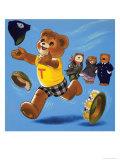 Teddy Bear Giclee Print by Francis Phillipps
