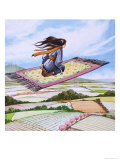 Stella's Magic Carpet Giclee Print by Nadir Quinto