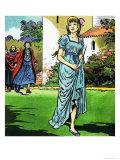 Princess Hiding a Shiv Giclee Print by Jesus Blasco
