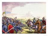 The Battle of Hastings Giclee Print by Pat Nicolle